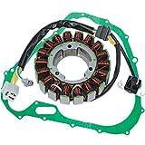 Caltric STATOR & GASKET Fits SUZUKI LTA750 LTA-750 XPZ King Quad 750 2009-2013