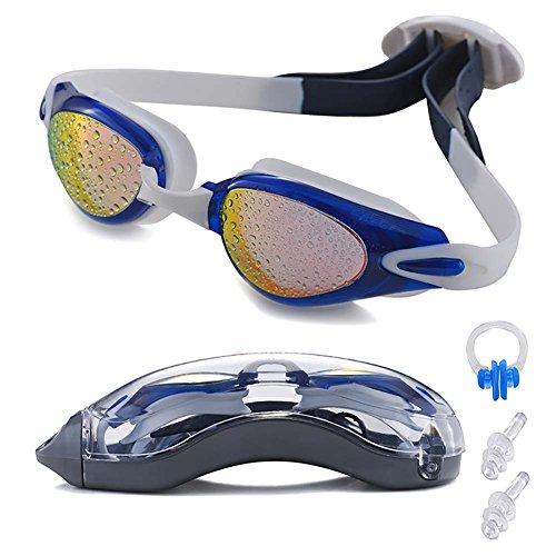 Swim Goggles, LIADO Professional Swimming Goggles, Waterproof Goggles, anti-UV Goggles, Suitable for swim Goggles adult Children and men, ladies, comfortable and perfect - Sale Goggles Swimming