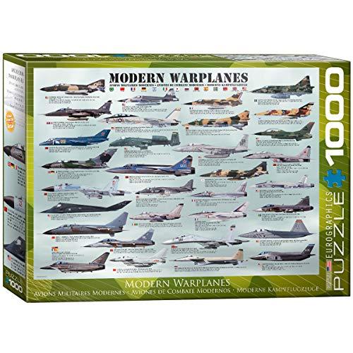 EuroGraphics Modern Warplanes Puzzle (1000-Piece)