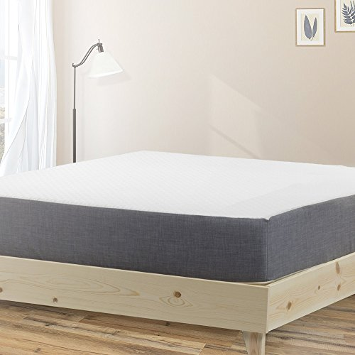 Unfinished King Bed Size (eLuxurySupply Modern Farmhouse Platform Bed with Slat Support: 100% USA Made | North American Pine Solid Wood | No Box Spring Needed | DIY | Natural Color - Unstained | Easy assembly - King)