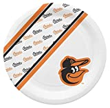 MLB Baltimore Orioles Disposable Paper Plates- 20 PK
