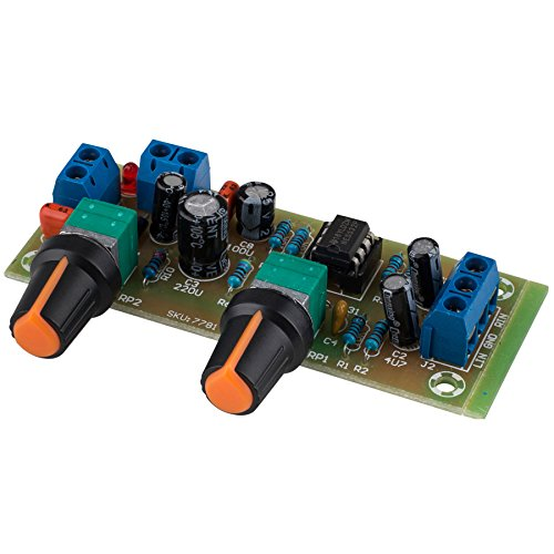 Crossover Board Pass (Parts Express Variable Low Pass Filter Electronic Subwoofer Crossover Preamp Board with Gain Control)