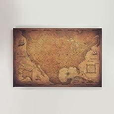 Amazoncom World Travel Map Pin Board Modern Slate Handmade - Us map pinboard