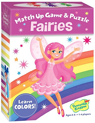 Fairies Color Match Up Game