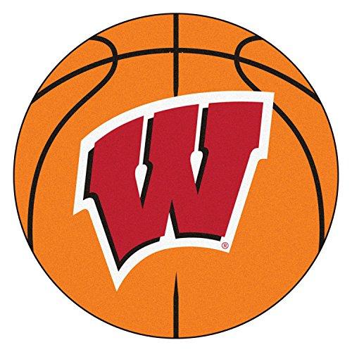 Fanmats Sports Team Logo University of Wisconsin Basketball ()