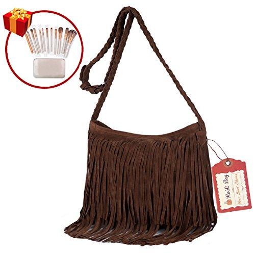 Braided Belt Messenger Bag - 2