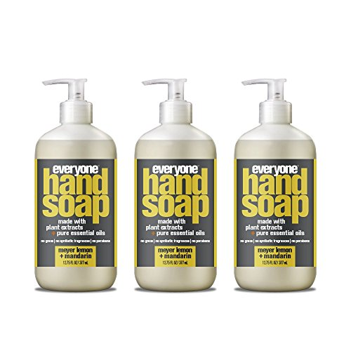 Everyone Hand Soap, Meyer Lemon plus Mandarin, 12.75oz, 3 Count ()