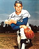 Sandy Koufax Los Angeles Dodgers Autographed Signed 8 x 10 Photo -- COA - (Mint Condition)