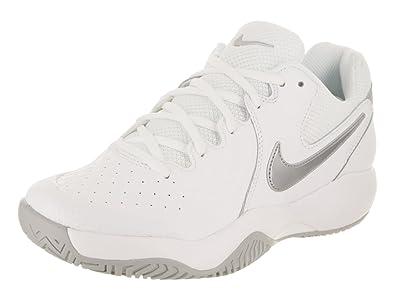 best website f94e2 2d634 Nike Women s WMNS Air Zoom Resistance Tennis Shoes, Multicolour  (White Metallic Silver