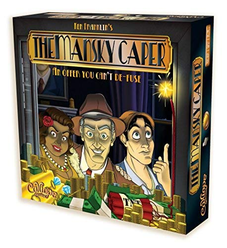 The Mansky Caper - A Family Board Game of Strategy & Luck for 2 to 6 Players [並行輸入品] B07SDBKCHB