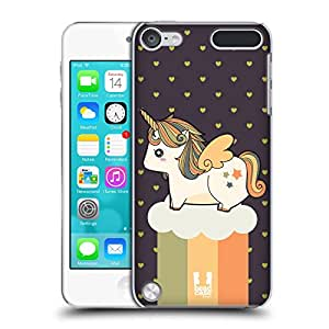 Head Case Designs Autumn Fancy Unicorns 2 Chubby Collection Hard Back Case for iPod Touch 5th Gen / 6th Gen