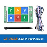 Zamtac 1pc 3D Printer Parts JZ-TS28 2.8inch Full Color Touch Screen Board Compatible with Ramps1.4 MKS Board