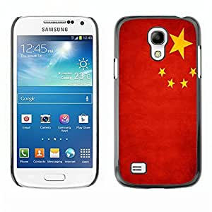 Shell-Star ( National Flag Series-People's Republic of China ) Snap On Hard Protective Case For Samsung Galaxy S4 MINI / i9190 / i9192