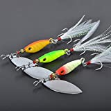 5 offset spatula - 10g Spoon Fishing Lures Spinner Bait (3pcs) Spinner Lures Carp Fishing Lure Bass Hard Bait Metal Pesca Isca Artificial