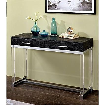Amazon.com: Furniture of America Romano Contemporary Console Table ...