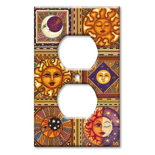 Art Plates - Celestials Switch Plate - Outlet Cover