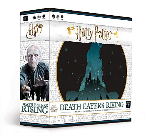 Harry Potter Death Eaters Rising Cooperative Dice Game | Board Game to Defeat He Who Must Not Be Named | Based on Harry Potter and The Order of The Phoenix (Harry Potter Games Board)