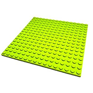 "Lego Parts: Friends Building Plate ""16 x 16 Studs"" (Service Pack 91405 - Lime)"