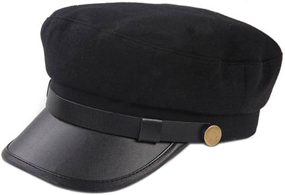 Amazon Com Nspstt Unisex Vintage Cosplay Japanese Student Black Hat Cap Chauffeur Limo Driver Hat Flat Cap Clothing