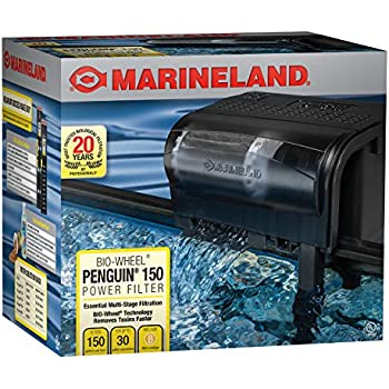 Marineland Penguin Power Filter, 20 to 30-Gallon, 150 GPH
