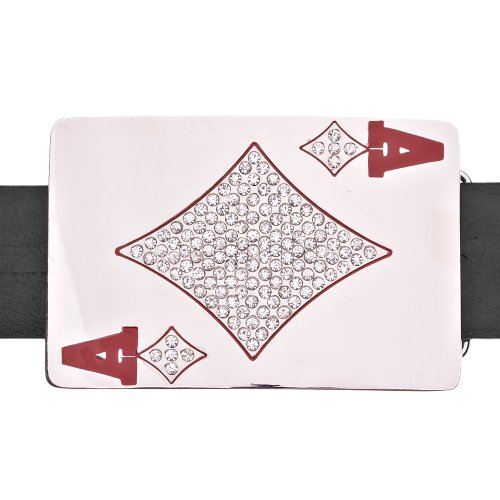 - Iced Out Bling Playa Ace Belt Buckle
