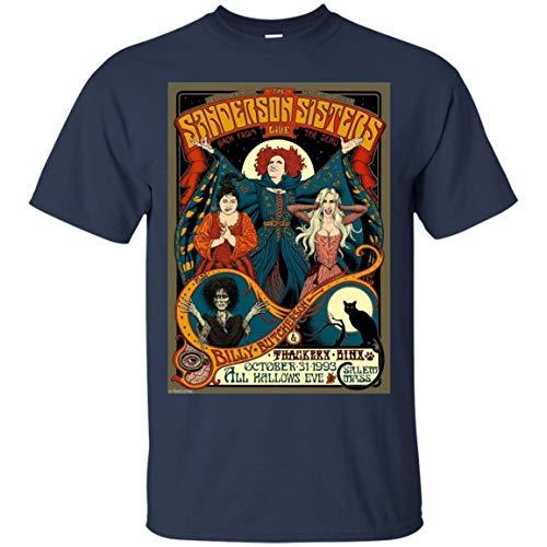 Tee CafeBizz Sanderson Sisters Vintage Tour - Hocus Pocus Halloween T-Shirt