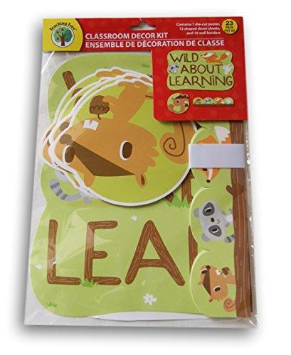 Teaching Tree Classroom Decor - Wild About Learning Woodland Theme - 23 (Classroom Decor Themes)