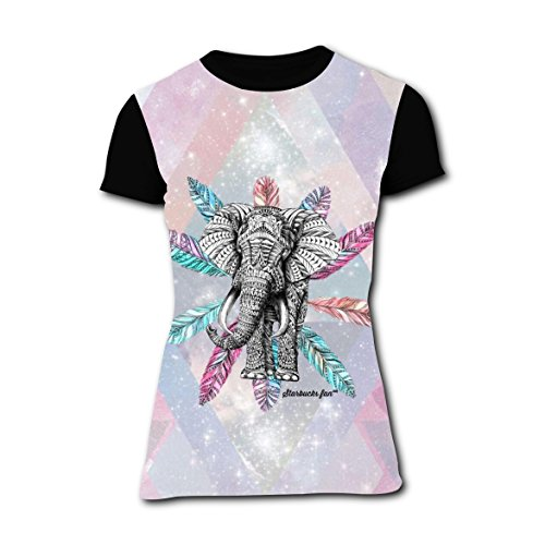 Ideas Couples Jungle For Costume (T-shirts Tee Shirt for Women Tops Costume Elephant in Jungle)