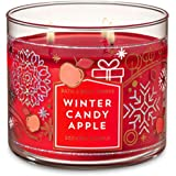 Bath and Body Works Winter Candy Apple 3 Wick Candle