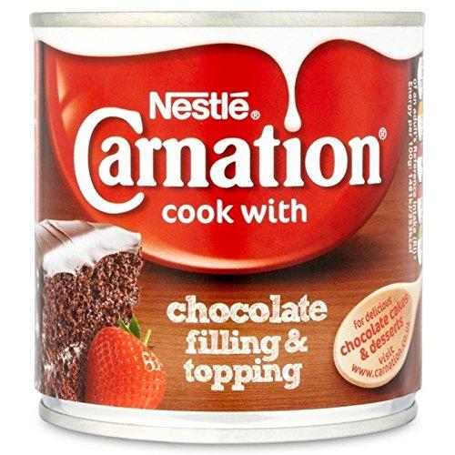 Carnation Relleno De Chocolate Y Relleno 363g (Paquete de 6)