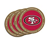 NFL San Francisco 49ers Neoprene Ring of Honor Coasters, Set of 4
