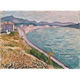 Canvas Prints Of Oil Painting ' Marquet, Albert_1907_View Of Saint-Jean-de-Luz ' , 20 x 27 inch / 51 x 69 cm , High Quality Polyster Canvas Is For Gifts And Bar, Game Room And Hallway Decoration, pop