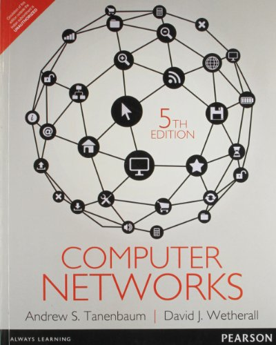 COMPUTER NETWORKS (5th Edition)