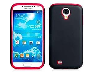 Mate funda protectora de silicona para Samsung Galaxy S4/i9500 (rojo)