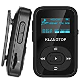 MP3 Player Bluetooth 8GB KLANTOP Digital Clip Music Player with FM Radio Voice Record Function Special Design for Sport and Music Lovers
