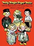 img - for Dolly Dingle Paper Dolls by Grace Drayton (1978-11-01) book / textbook / text book