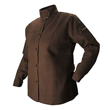 3e7127a0205f Image Unavailable. Image not available for. Color  BSX AngelFire Women s  Flame-Resistant Welding Jacket ...