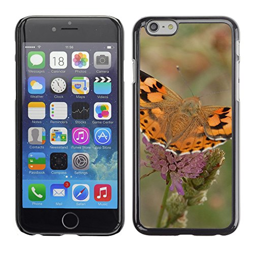 Premio Sottile Slim Cassa Custodia Case Cover Shell // V00003041 papillon // Apple iPhone 6 6S 6G 4.7""