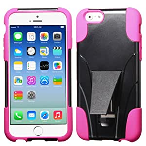 ASMYNA Hot Pink Inverse Advanced Armor Stand Protector Cover for APPLE iPhone 6 (4.7-inch)
