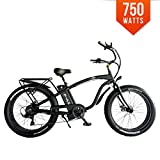 Bpmimports F-45 BPM F45 750W 13AH 48V 26′ Fat TIRE Electric Bike Bicycle Rack Beach-Cruiser Review