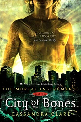 Image result for City of Bones, by Cassandra Clare