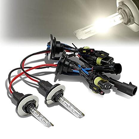 Pair of D2R 3000K Yellow High//Low Beam HID Xenon Conversion 35W Light Bulbs
