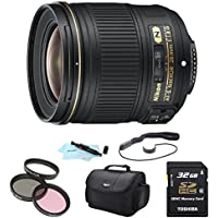 Nikon AF-S NIKKOR 28mm f/1.8G Lens w/ Nikon 5-Year USA Warranty Pro Kit