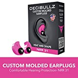 Decibullz - Custom Molded Earplugs, 31dB Highest NRR Review and Comparison