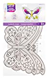 Butterfly Paper Dress Up Mask - Ready to Color - Makes 12