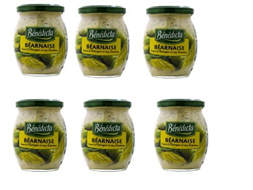 Benedicta Sauce, Bernaise, 8.50-Ounce (Pack of 6)