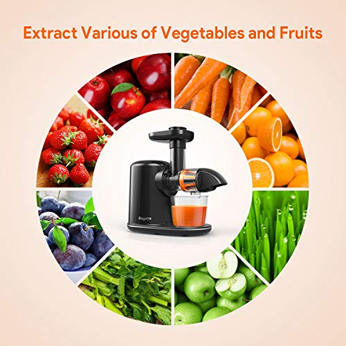 Machine Juice Extractor Bagotte Cold Press Juicer Electric Slow Masticating Vegetable and Fruit