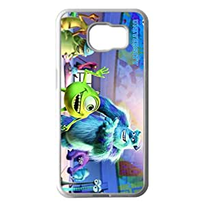 Personalized Monsters University Custom White Phone Case For Samsung Galaxy S6