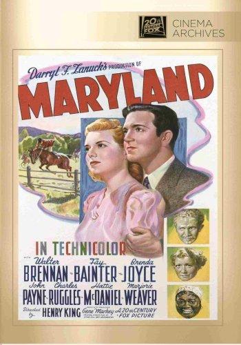 Maryland [DVD] [1940] [Region 1] [US Import] [NTSC]