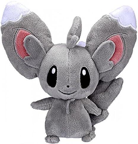 amazon com pokemon black white series 2 6 inch minccino plush